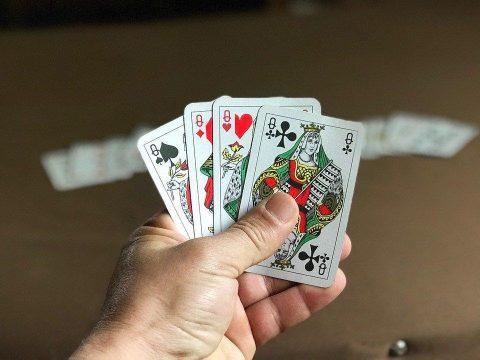 Perjudian, Poker, Ace, Bahaya, Risiko, Kertas, Menang